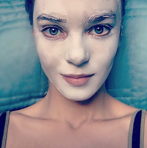 Tristyn Lecia - White Clay Mask