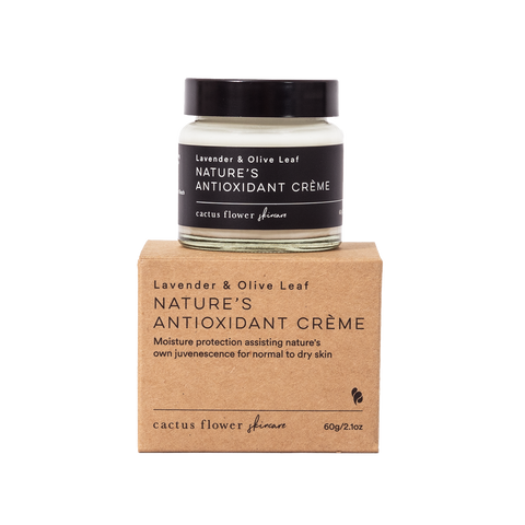 Nature's Antioxidant Creme with Product Box