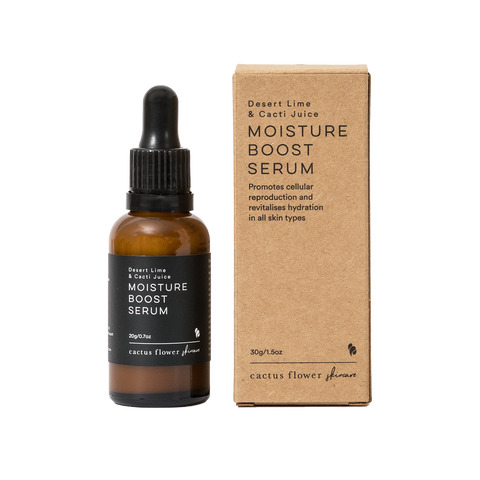 Moisture Boost Serum with Product Box