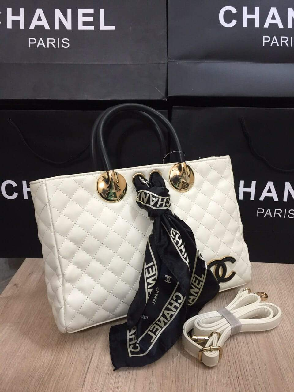 Chanel Leather Handbag