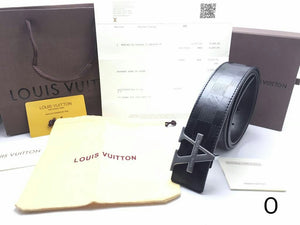 Louis Vuitton Leather Belt