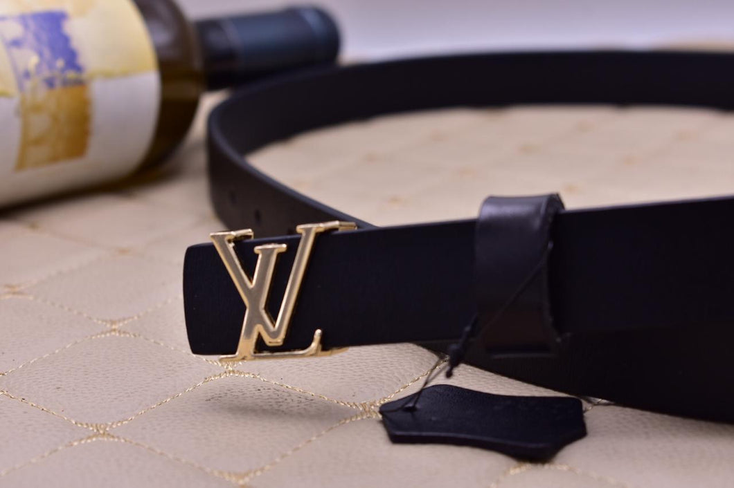 Louis Vuitton Leather Womens Belt