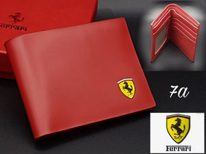 Ferrari Leather Wallet