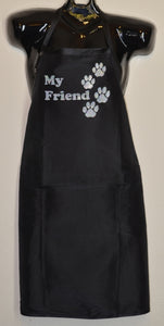 MY FRIEND WITH PAWS APRON