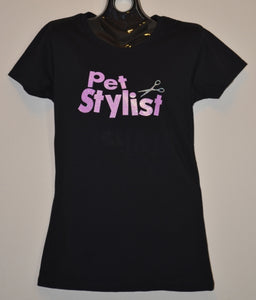 PET STYLIST WITH SCISSOR T-SHIRT