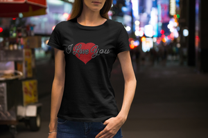 I Love You with Heart T-Shirts