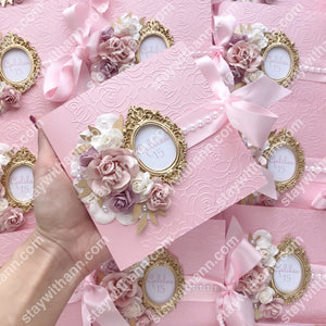 Pink Quinceanera Invitation