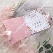 Load image into Gallery viewer, Pink Quinceanera Invitation