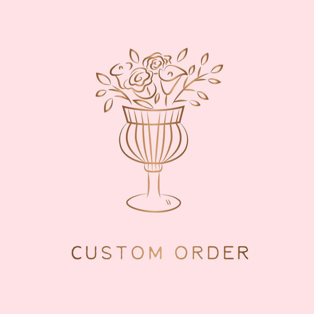 Custom order for julien gaillou