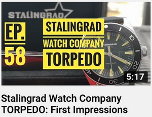 Youtube Video -  TORPEDO Watch : First Impressions