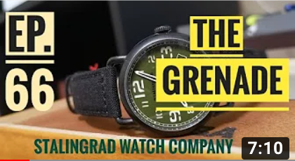 Grenade watch - Full Video Review