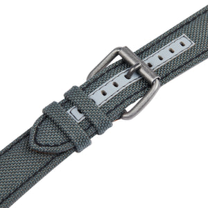 Grey cordura spare watch strap