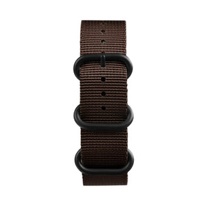 Brown Nylon NATO watch Strap