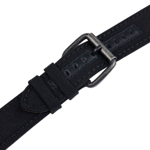 Black Cordura watch strap