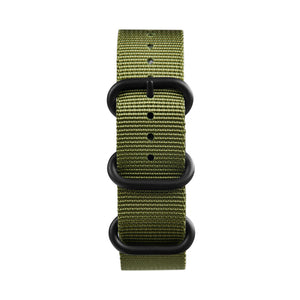Green Nato watch strap