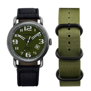 Outdoor watch NATO strap