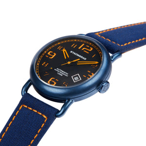Outdoor watch with cordura strap