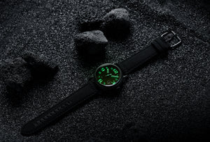 Watch with lume
