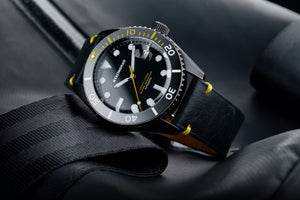 Dive watch with date