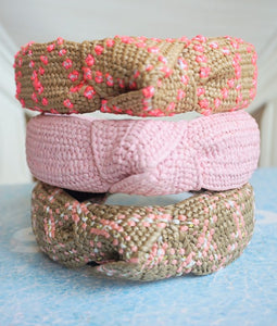 LILLIAN WICKER KNOT HEADBAND