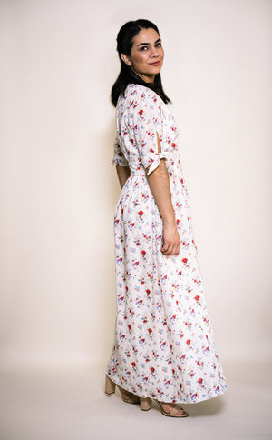 EMILY FLORAL PRINT MAXI