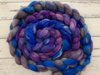 Bluebells and Butterflies (Spinning Fiber)