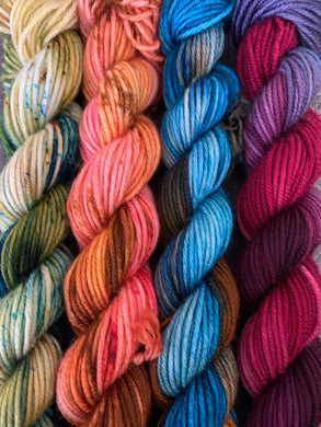 Day to Night (DK Weight) 4-skein set