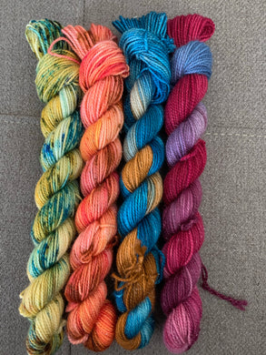 Day to Night (Shimmer FW) 4-skeins set