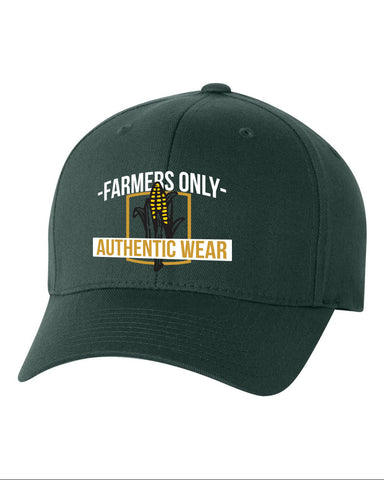 FarmersOnly Baseball Cap- Authentic Wear Flexfit Hat