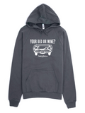 Your Bed or Mine Pullover Hoodie