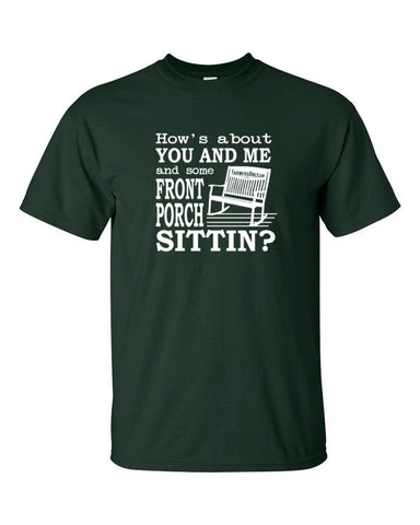 Front Porch Sittin'- Men's T-Shirt