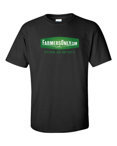 FarmersOnly.com Logo- Men's T-Shirt