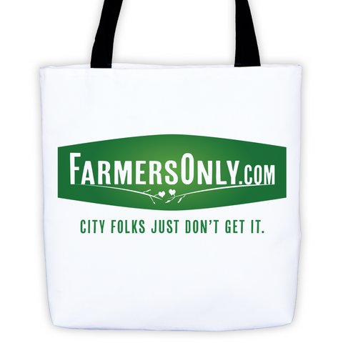 FarmersOnly Logo Tote