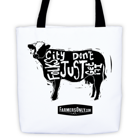 Cow CFJDGI Tote