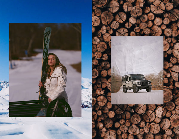 Black Bridge Winter 2020 Look Book: Defender Ski Adventure Edition