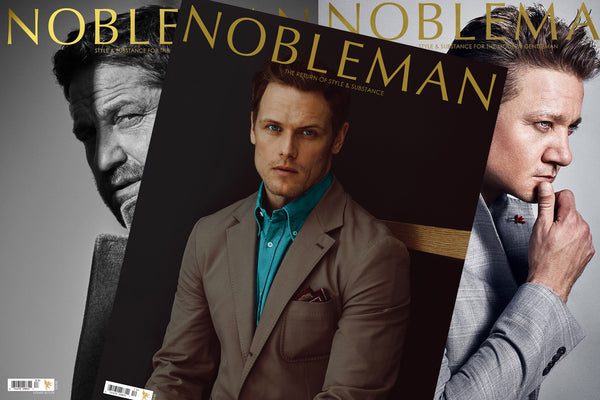 Blackbridge Featured In International Men's Luxury Publication Nobleman Magazine.