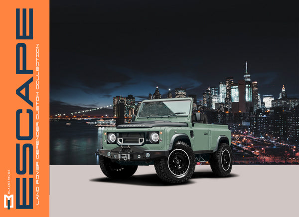 Social + Distance - The Custom Land Rover Escape Is Here