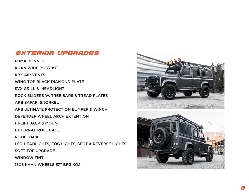 east coast defender icon4x4 blackbridge motors ct best custom land rover defender shop