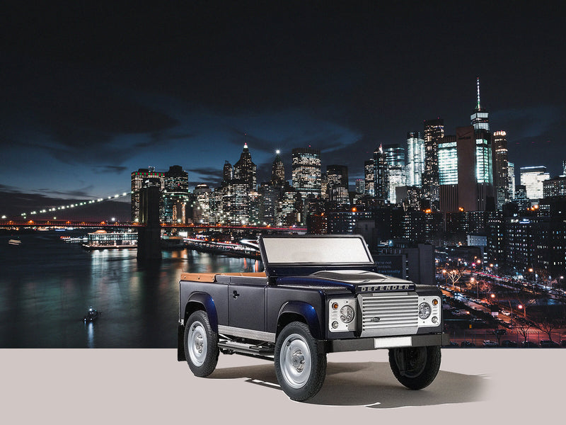 Roofless Land Rover Defender