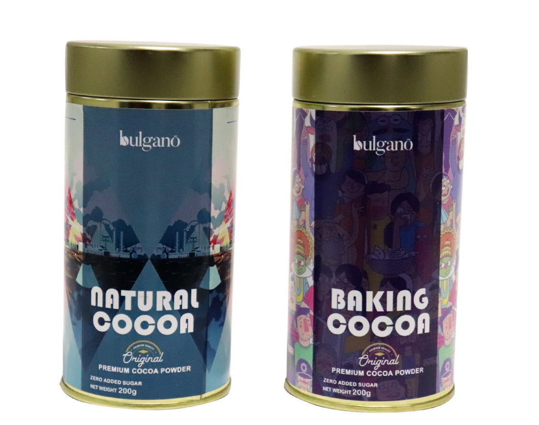 natural cocoa and baking cocoa