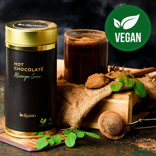 Bulgano Moringa Cocoa Hot Chocolate