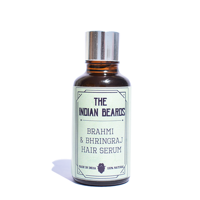 The Indian Beards Brahmi & Bhringraj Hair Serum