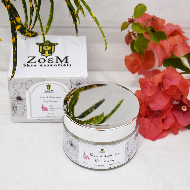 ZoeM Rose & lavender day cream
