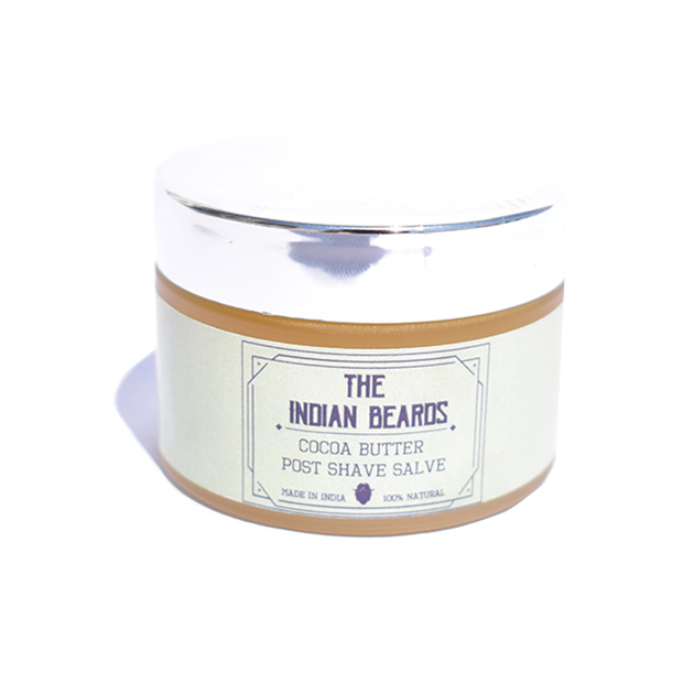 The Indian Beards Cocoa Butter Post shave salve