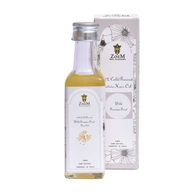 ZoeM 100% Cold Pressed Wild Sesame Oil