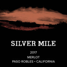 Load image into Gallery viewer, Silver Mile Paso Robles Merlot