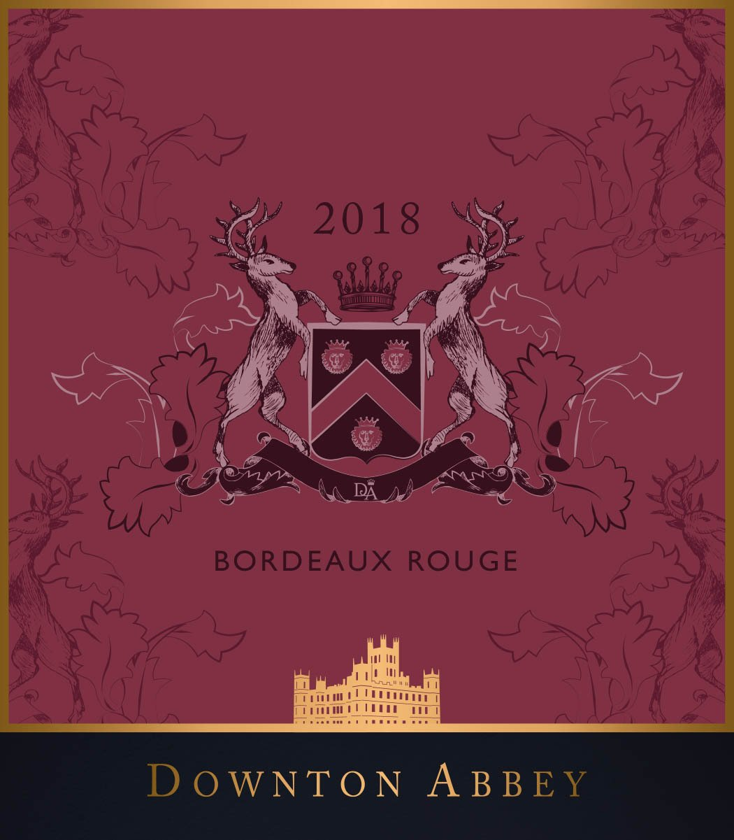 Downton Abbey Red Wine Bordeaux