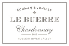 Load image into Gallery viewer, Corman & Juniper Le Buerre Russian River Valley Sonoma Chardonnay