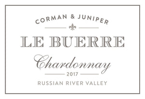 Corman & Juniper Le Buerre Russian River Valley Sonoma Chardonnay