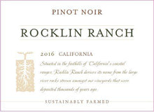 Load image into Gallery viewer, Rocklin Ranch California Pinot Noir
